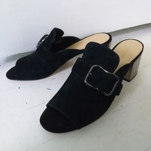 Marc Fisher mirror mules
